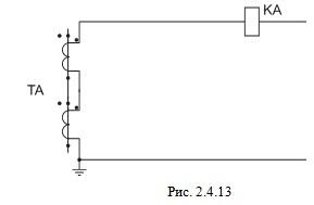 Последовательное соединение трансформаторов тока