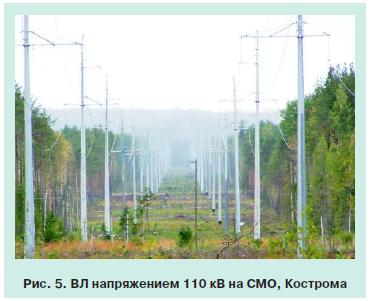 линии электропередачи на стальных опорах 6