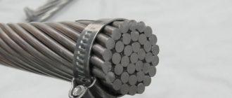 Алюминиевый композитный провод 5