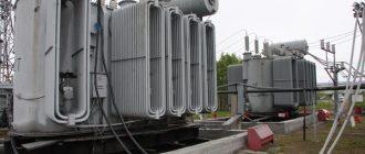 Устройство электрических сетей