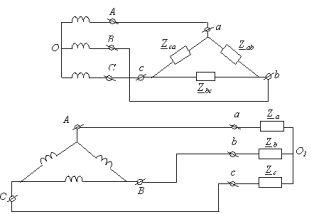 Линейные и фазные токи 1