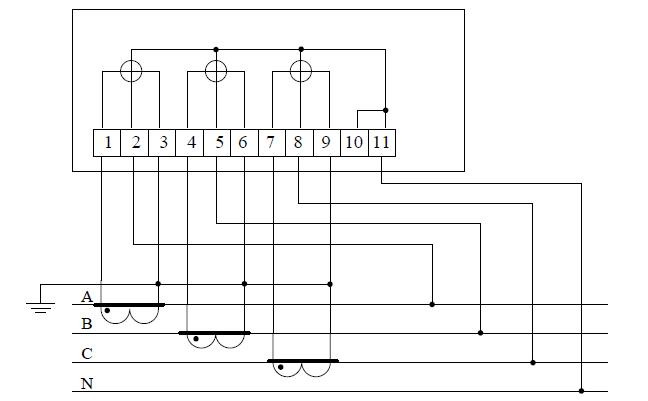 Схема счетчика 2