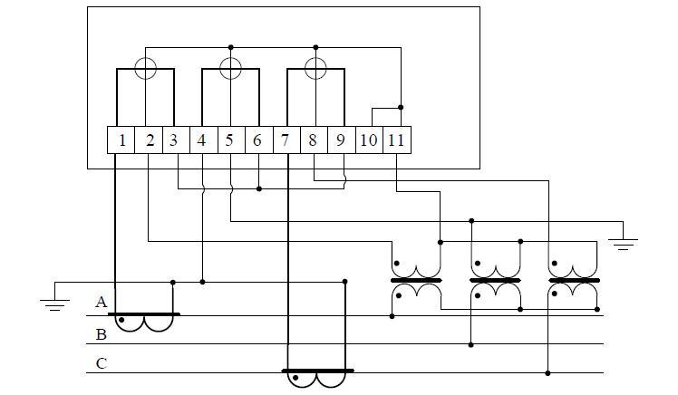 Схема счетчика 3