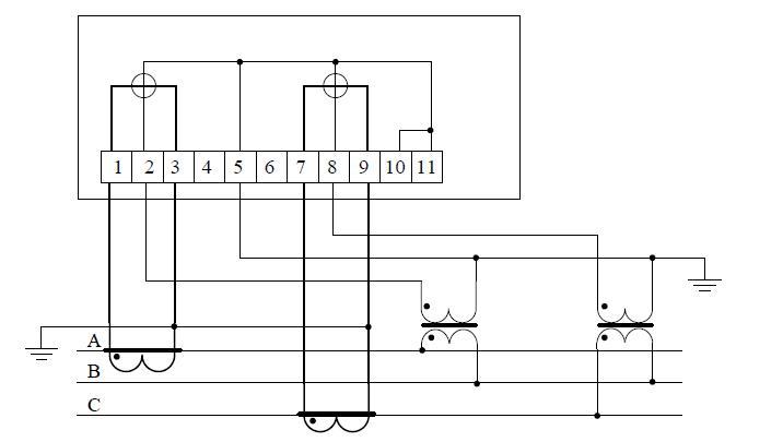 Схема счетчика 4