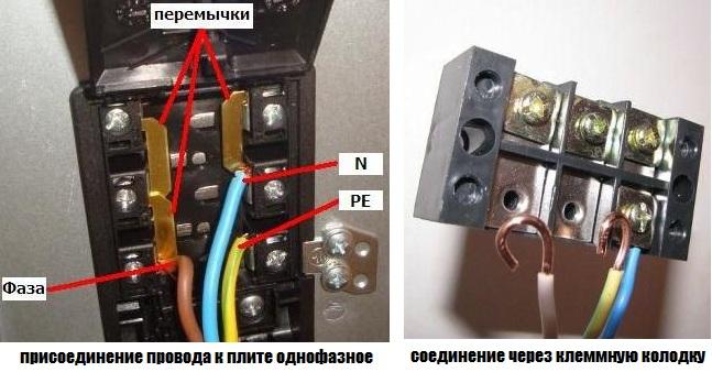 Как подключить электрическую плиту 1