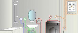 Подключение стиральной машины к электросети 2