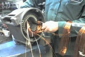 Показатели качества ремонта асинхронных двигателей