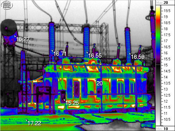 Тепловизионный контроль электрооборудования 2