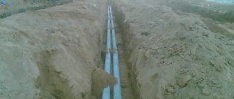Прокладка проводов в стальных трубах 2