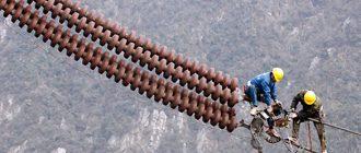 Ремонт воздушных линий электропередач 1