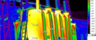 Диагностика теплового состояния трансформаторного оборудования