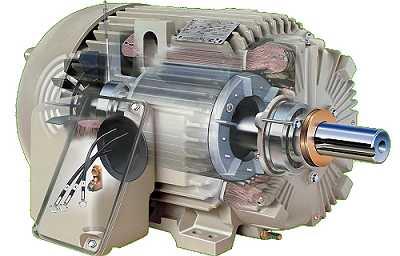 Параллельная работа синхронной и асинхронизированной машин переменного тока