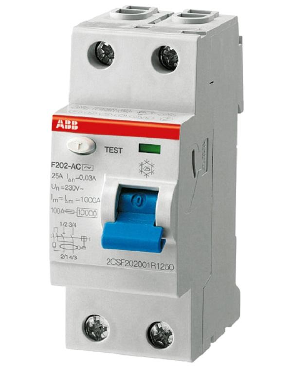 ABB ВДТ 2P2M F202 AC-40003 1