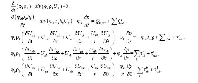 Численные модели кода евклид/v2 для анализа аварий с разрушением активной зоны быстрых реакторов