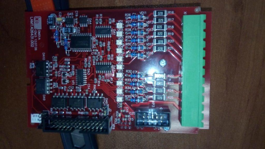 Модуль DM01A для комплекса телемеханики Телеканал М2